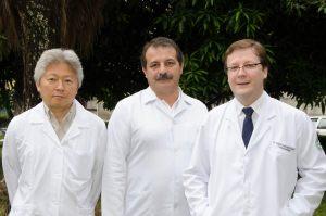 Dr. Getúlio, Dr. Marco Mariano e Dr. Wilton