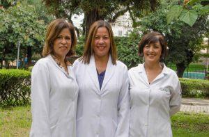 Silvana, Neusa e Auxiliadora