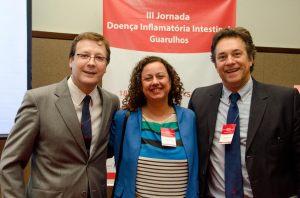 Dr. Wilton, Dra. Cristina e Dr. Carlos Sobrado