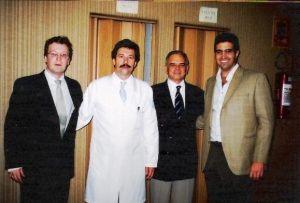 Dr. Wilton, Dr. Sobrado, Dr. Duarte e Dr. Matheus